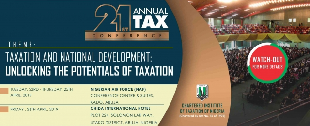 21st Annual Tax Conference.