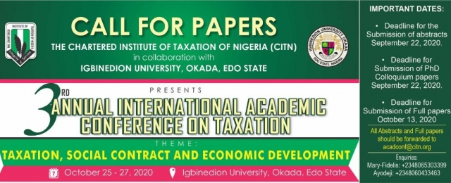3RD ACADEMIC CONFERENCE