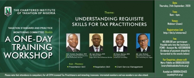 Requisite Skills forTax Practitioners
