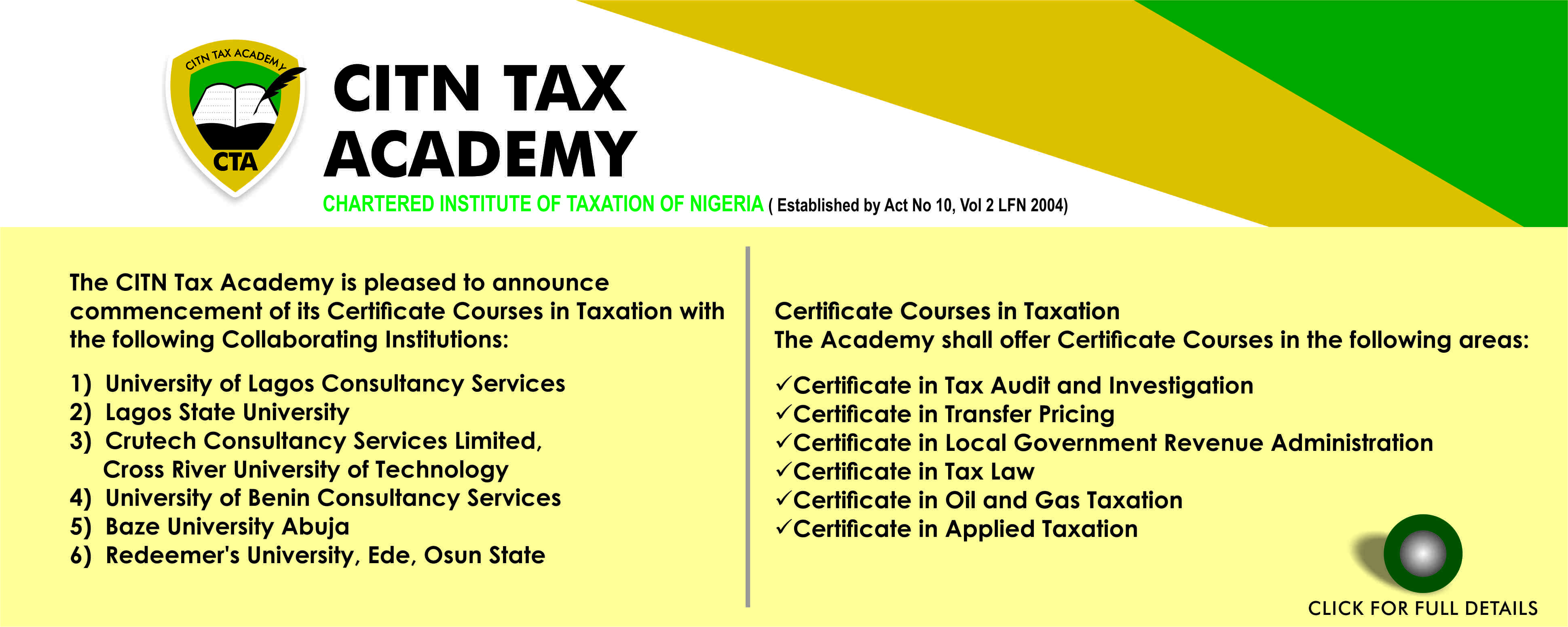taxation in nigeria Impact of taxation  the impact of taxation on revenue generation in nigeria a study of federal capital territory and selected stat.